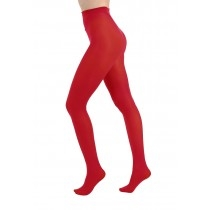 Red OpaqueTights 50den
