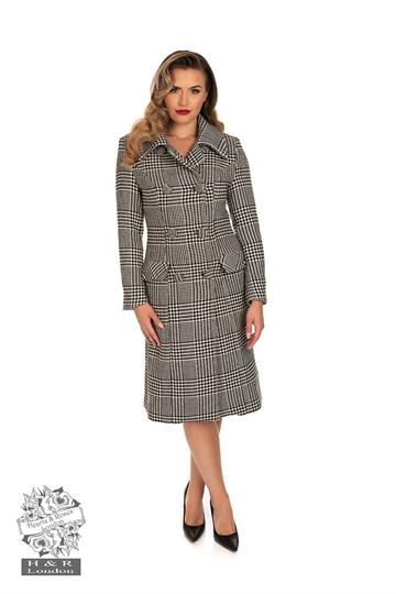 Isabelle Check Coat