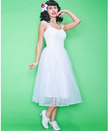 Daisy Dapper White Dress
