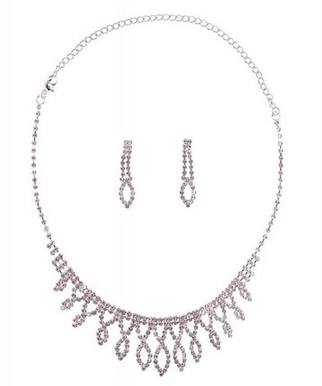 Deco jewellery set
