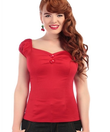Dolores Red Top