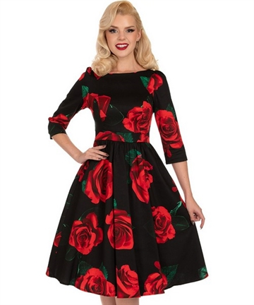 Edith Swing Dress