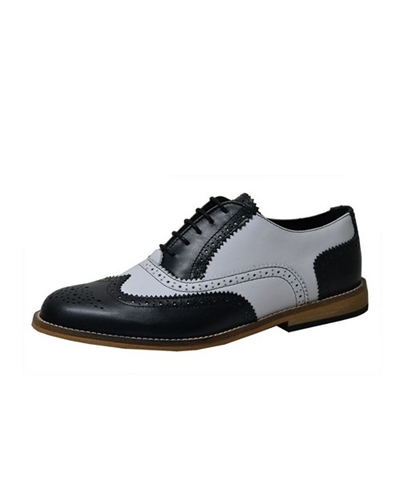 Gatsby brogue shoes