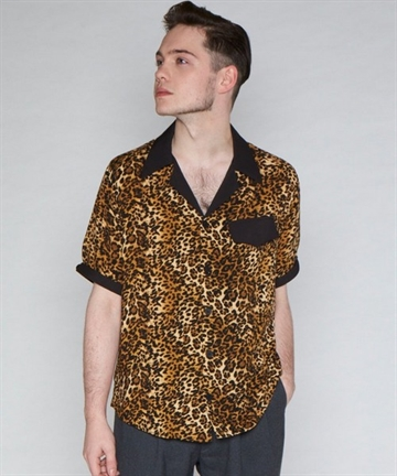 Keith Leopard Print Shirt