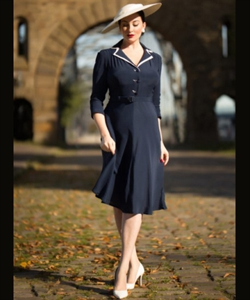 Lisa Mae 1940's Dress