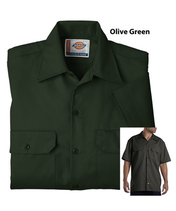 Dickies Work Shirt -Green